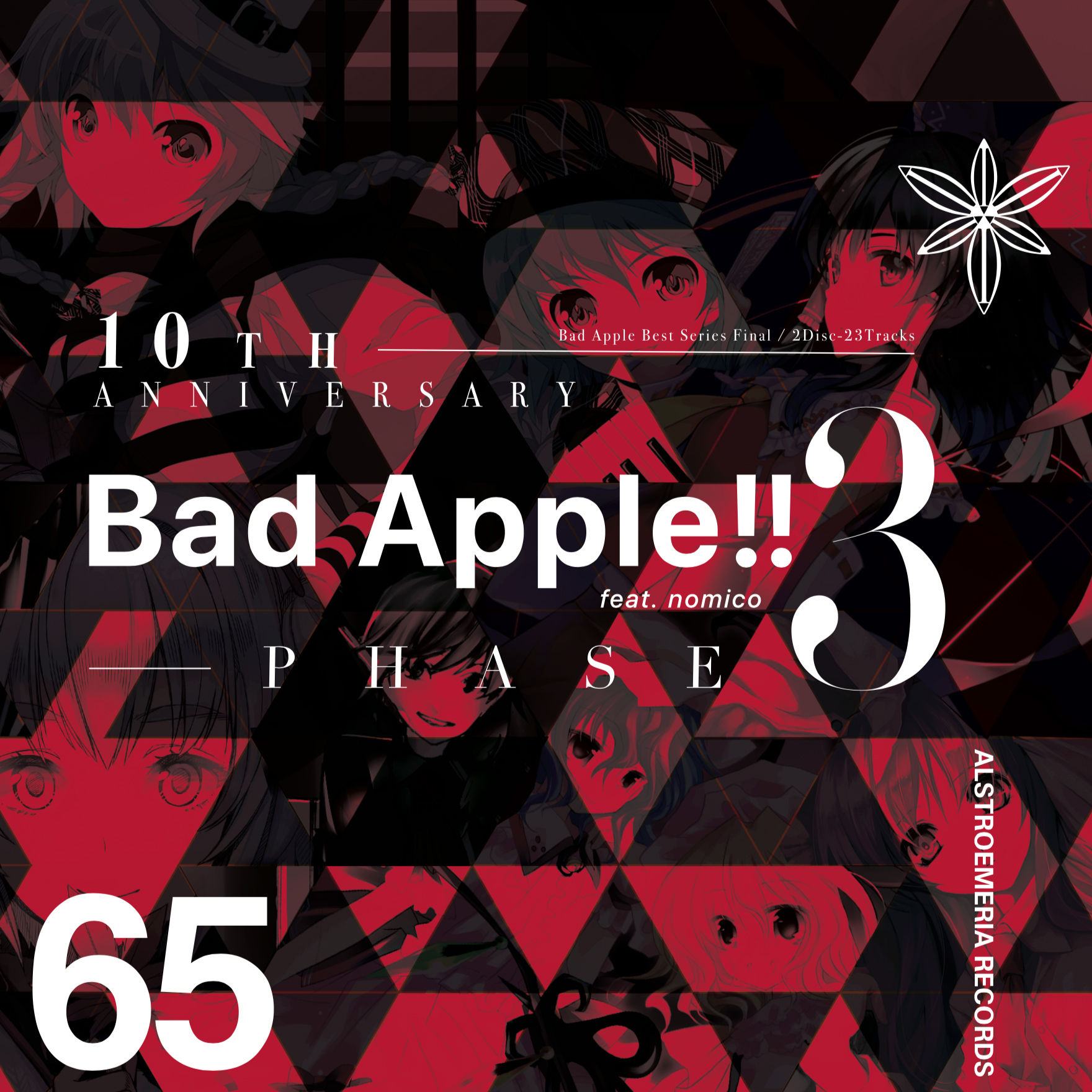 ARCD0065 / 10th Anniversary Bad Apple!! feat.nomico PHASE 3